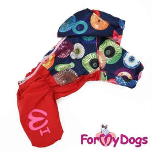 ForMyDogs | Regnjakke – Umbrella, female str. 22