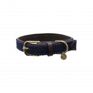 Kentucky Dogwear | Flettet halsbånd, Blå