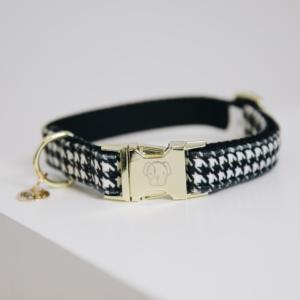 Kentucky Dogwear | Pied-de-Poule halsbånd, Black
