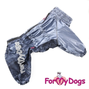 ForMyDogs | Regnjakke – Graphite, Male str. C1