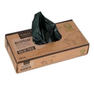 Biologisk nedbrydelige pølleposer | 200 stk. i boks