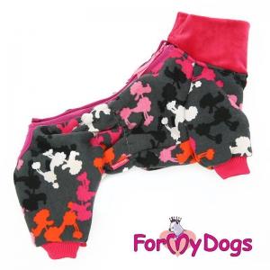 """TILBUD   ForMyDogs   Suit """"Poodle"""" Female, Str. 22"""