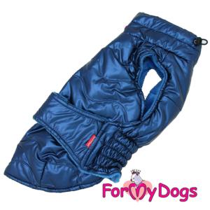 "ForMyDogs Gravhund | Vinterjakke, ""Blue"" Unisex"