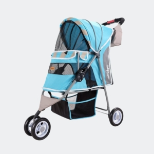 InnoPet | Stribes Pet Stroller – Ocean Blue