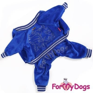 ForMyDogs Suit | Velour Blue – Unisex
