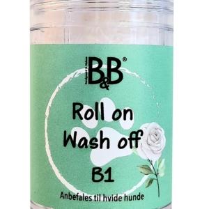 B&B | Roll on/Wash off – shampoo stick B1 – Hvid